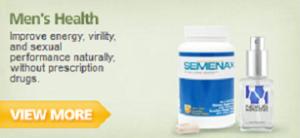 natural health remedies men